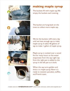 How to Make Maple Syrup by wordplayhouse #Maple_Sugaring #Maple_Syrup