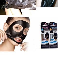 Natural Bamboo Charcoal Blackhead Remover Nose Face Facial Mask Skin Care Masks Suction Black Mask New #Affiliate
