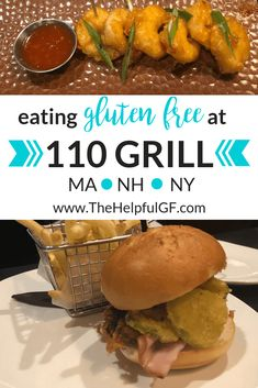 The 110 Grill menu sets the standard for gluten-free and allergen dining!  Pin now and click through to read my full review of both the allergen menu and children's menu.  Be sure to add 110 Grill to your must visit dining options for gluten-free dining in New York, Massachusetts, and New Hampshire. #glutenfreedining #110Grill #glutenfreemassachusetts #glutenfreenewhampshire