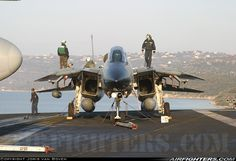 F-14 Tomcat Its not hard to see why military jets are so fast, with intakes that size.