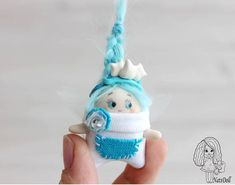 NatsDoll on Etsy Polymer Clay Dolls, Cute Toys, Handmade Toys, Etsy Handmade, Fairy Art, Fairy Dolls, Tooth Fairy, Soft Dolls, Beautiful Gifts