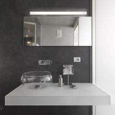 LED Wall Lamp for bathrooms Lits - Novolux - Wonderlamp.shop LED Wall Lamp for bathrooms Lits - Novolux - Wonderlamp. Bathroom Lighting Design, Bathroom Light Fixtures, Interior Lighting, Lighting Ideas, Led Wall Lamp, Ceiling Lamp, Just Give Up, Flush Lighting, Other Rooms