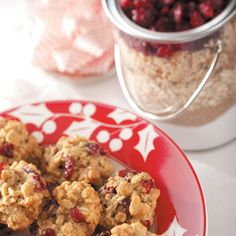 12 COOKIE MIX RECIPES ... Oatmeal Cranberry Cookie Mix