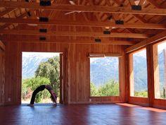 La Rinconada Ranch, Argentina - 1 of 30 studios chosen as places you must practice this lifetime! https://zenactivesports.com/30-incredible-yoga-studios/