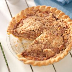 Delightful Apple Pie Recipe from Taste of Home -- shared by Amy Wood of Wichita, Kansas