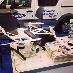Be sure to check out the Yuneec Q500 quadcopter at our booth C5646! #NABShow #drone #yuneec