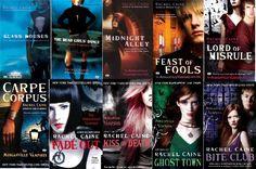 Morganville Vampire series. Love the snark in this series!