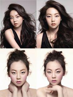 sohee: monolid cat-eye inspiration