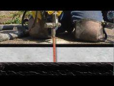 URETEK im Einsatz  #Hohlraumauffüllung und Anhebung einer Garageneinfahrt durch #URETEK. http://www.uretek.de/einsatzgebiete/produktion-a-gewerbe