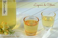 citron liqueur maison limoncello