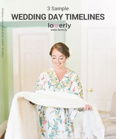 Keep calm on the big day by drafting a foolproof wedding timeline and then share it with your bridal party, wedding coordinator, and photographer. Wedding Reception Timeline, Wedding Planning Timeline, Destination Wedding Invitations, Wedding Coordinator, Wedding Planner, Event Planning, Wedding Checklist Printable, Wedding Day Checklist, Wedding Schedule