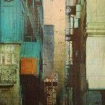 Urban City Life Paintings by Liz Brizzi http://robotmafia.com/urban-city-life-paintings-by-liz-brizzi/