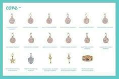 Add these cores to your origami owl bangles or bracelets look for at www.bruny.origamiowl.com