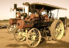Steam-Powered Tractors