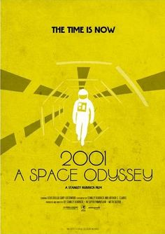 2001 A Space Odyssey (1968) ~ Minimal Movie Poster by Forge Design Works #amusementphile