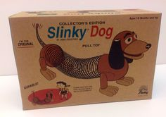 POOF-Slinky 225R Collector's Edition Original Slinky Dog in Retro Packaging #POOFSlinky