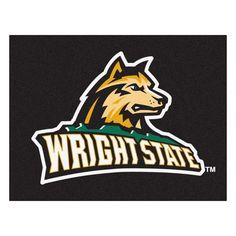 Sports Licensing Fanmats Wright State University Nylon Allstar Rug