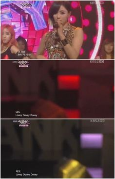 T-ara responds to the camera mishap during their 'Music Bank' performance