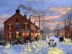 """Dave Barnhouse - """"City Sidewalks, Busy Sidewalks"""""""