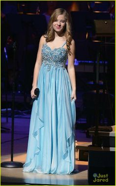 I love Jackie Evancho's dresses!