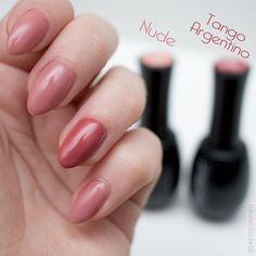 @neonailpoland Nude + Tango Argentino ♥ #neonail #nails #hybrydy #paznokcie