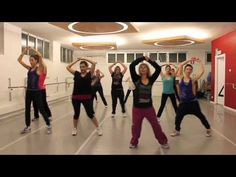 Zumba-Judas by Gaga...don't care for the song a lot, but the choreography is fun.
