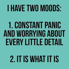 This is so me! I'm finally just going with #2....screw #1....it isn't worth it anymore