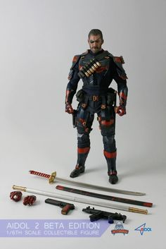 1//6 Scale SUPERMAD Toy HaHaHa Joke 52 Colle Solider Figure Collectible Model Set