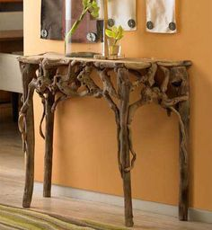 Root side table.