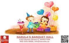 Create Your Memories -Book Narula's Banquet Hall Hamilton