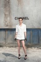 More HQ Photos Of Kristen At The Chanel Fall Couture Show In Paris | Kristen Stewart News