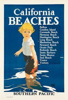 California Beaches ~ Maurice Logan