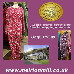 Meirion Mill and Shop - Onesies Facebook Post Promote Your Business, Marketing, Wales, Onesies, Designers, Social Media, Facebook, Website, Shopping