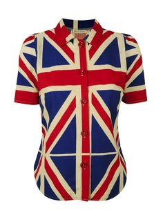 union jack vintage shirt
