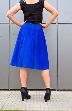 d0c8c175bbf Excited to share the latest addition to my  etsy shop  Sky Blue Pleated  Skirt