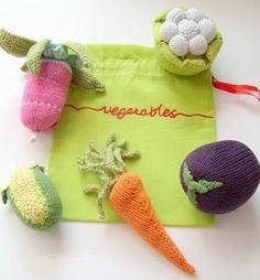 for @Melissa DeSa ... knitted veggies! So sweet!