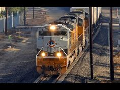 Freight Trains in Southern California