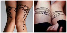 tatouage tour de cuisse