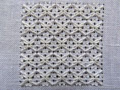 ittle bit drawing it in the direction of the loop. Lazy Daisy Stitch, Drawn Thread, Filet Crochet, Embroidery Stitches, Needlepoint, Needlework, Blog, Crafty, Blanket
