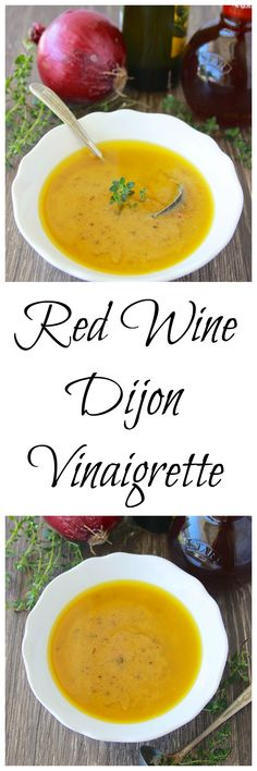 Red Wine Dijon Vinaigrette - Cooking With Ruthie