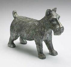 Cyan Design Cyan Design Dogs Pewter Material: Cast Iron. Finish: Pewter. Brand: Cyan Design. Dimensions: 6.25 H x 2.75 L x 9 W. Made in China.  #CyanDesign #Home