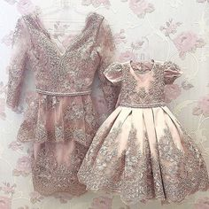 #ANCHEZA #пошивподзаказ #familylook Baby Girl Birthday Dress, Birthday Dresses, Little Girl Dresses, Girls Dresses, Flower Girl Dresses, Mother Daughter Matching Outfits, Mother Daughter Fashion, Mom Dress, Baby Dress