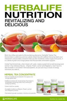 Herbal Tea Concentrate Nutrition  https://www.GoHerbalife.com/kimberlybarber/en-US