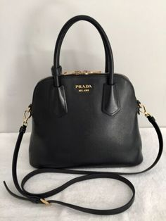c6aae7bb173b05 Details about Auth PRADA WOC Wallet on Chain Shoulder Crossbody Bag Pink  Saffiano Leather