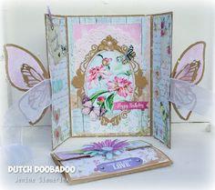 Card Art mal Butterfly