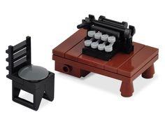 Love the typewriter keys!!