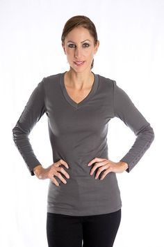 Luxe V-Neck Top
