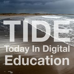 Today In Digital Education (TIDE) podcast - Curriculum as Algorithm Education technology and everything in between. Tide Logo, Community Boards, Educational Technology, Curriculum, Teaching, Digital, Desktop, Content, Outdoor