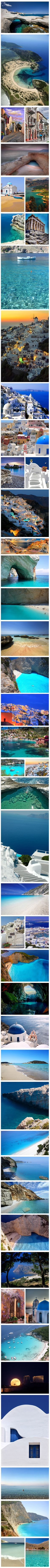 """Part 1 of 2 - 100 Most Stunning Images of Greece""  #Greece"