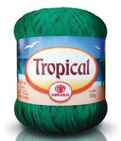 Produtos Círculo - Crochê - Tropical